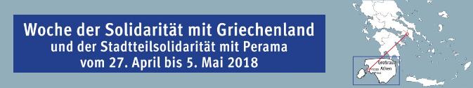 Einwohnerverein St. Georg: Woche der Solidarität mit Griechenland