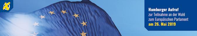 Die DGG-Hamburg unterzeichnet den Hamburger Europa-Aufruf