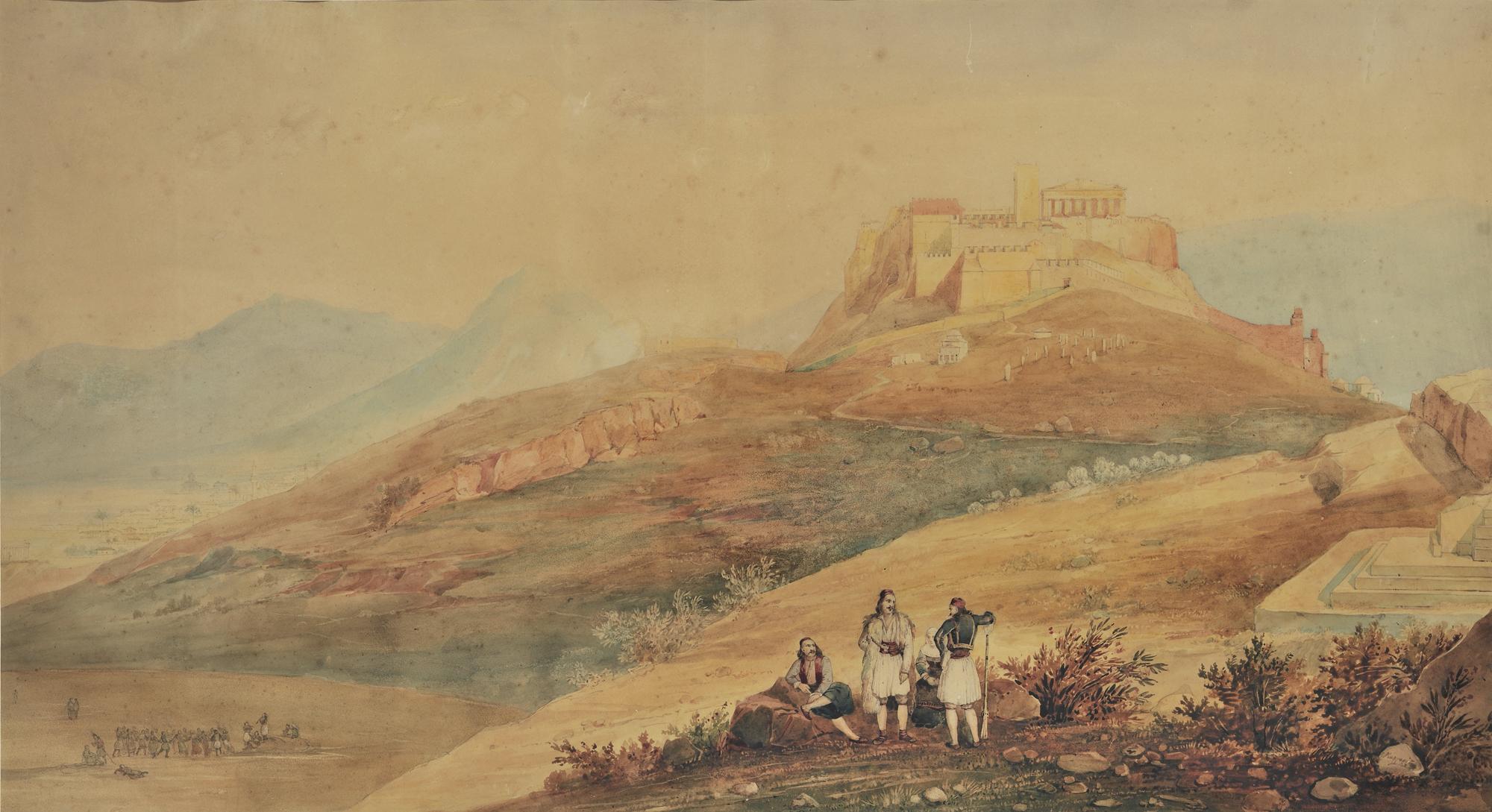 Akropolis in der Türkenzeit