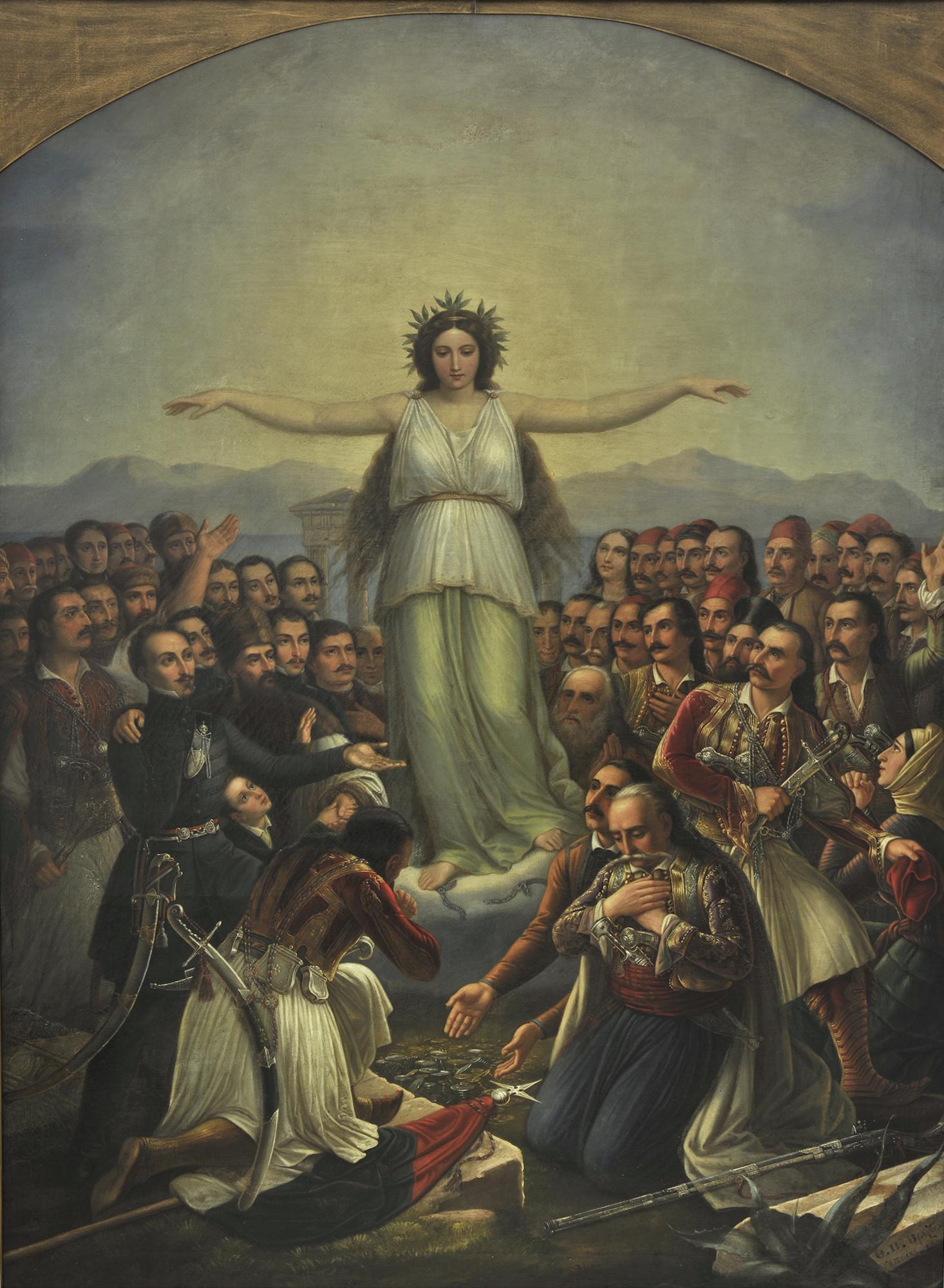 Hellas zeigt ihre Dankbarkeit