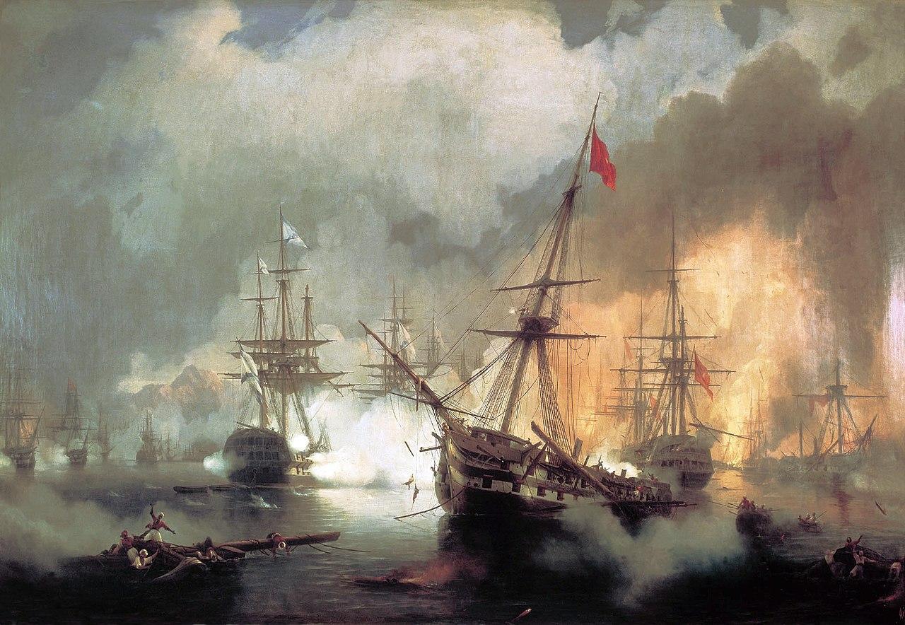 Die Seeschlacht bei Navarino
