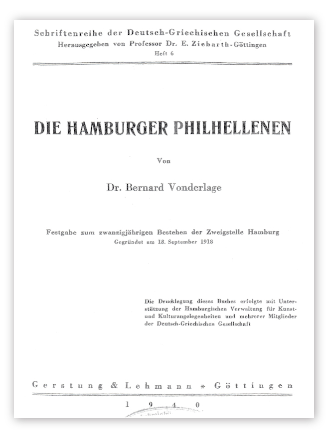 Die Hamburger Philhellenen